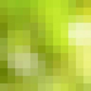 Stock Photo - Abstract yellow & green pixel pattern as backgroun