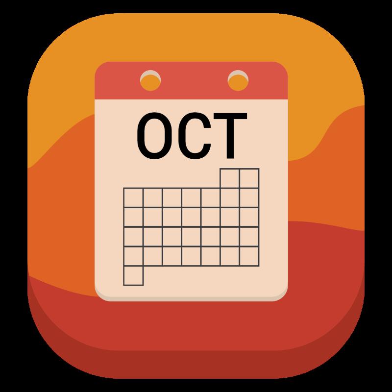 Vector Illustration : Calendar icon