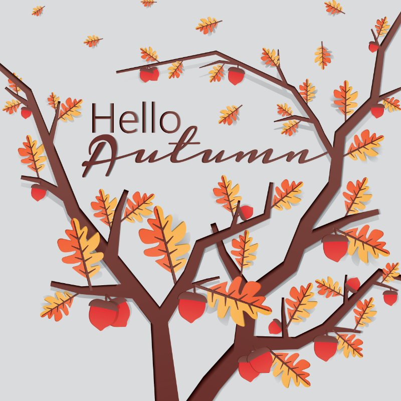 5 vector trends for the autumn season 2015 stockunlimited blog vector illustration hello autumn card m4hsunfo