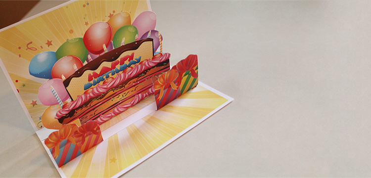 How To Make An Awesome Pop Up Birthday Card With Stock Art