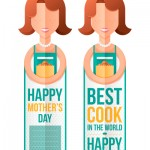 Mothers Day best cook in the world bookmark