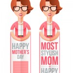 Mother's Day bookmark Most Stylish Mom
