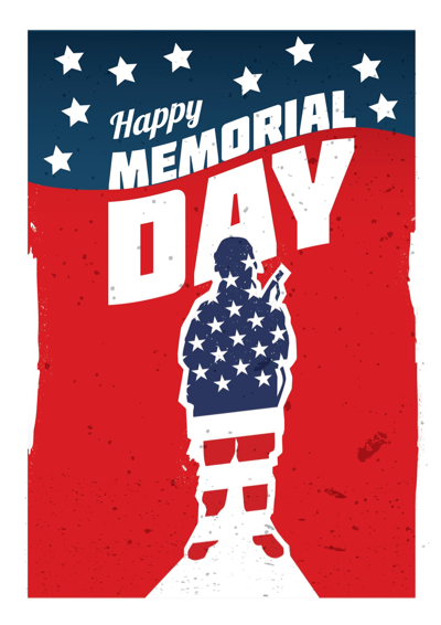 Memorial Day Graphics - Poster Art
