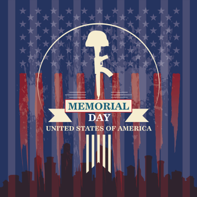 Memorial Day Graphics - Vector art for Memorial Day