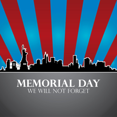 "Memorial Day Graphics - ""We will not forget"""