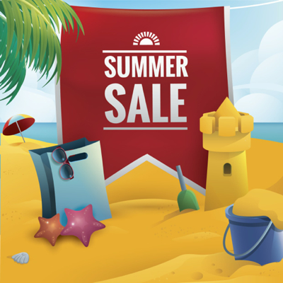 Summer Vectors - Summer Sale