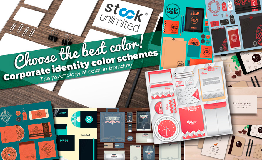 Color psychology when choosing your corporate identity