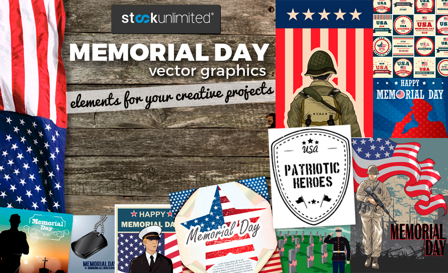 Memorial Day graphics - Blog Cover