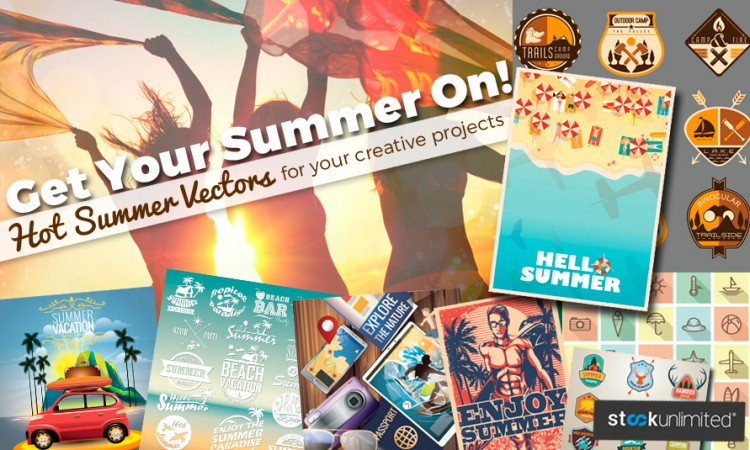 Summer Vectors - For your creative projects