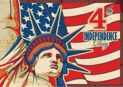 4th of July Graphics - Statue of Liberty