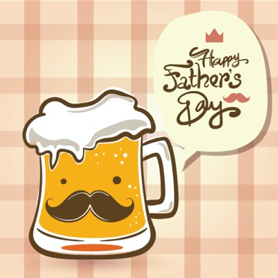 Fathers Day Card Ideas - Beer drinking dad