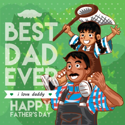 Fathers Day Card Ideas - Outdoors dad
