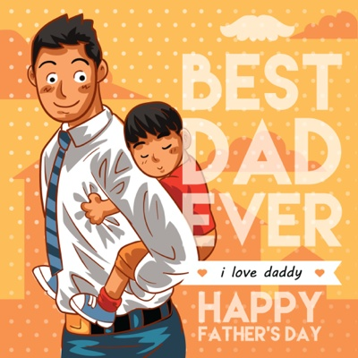 Fathers Day Card Ideas - Office dad