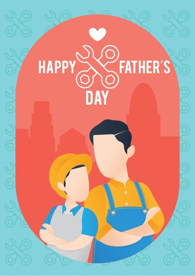 Fathers Day Card Ideas - handyman dad