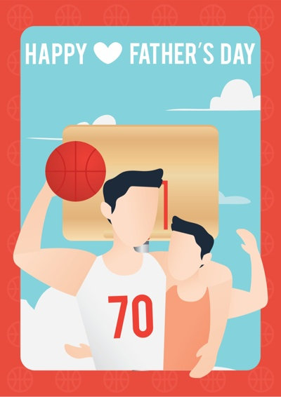 Fathers Day Card Ideas - Sporty Dad