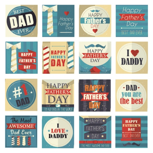Fathers Day Card Ideas - Typography