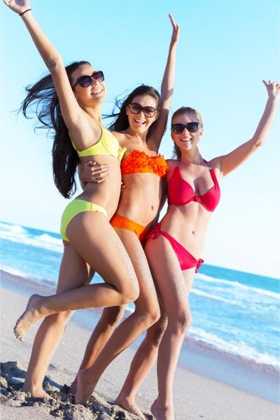 Beach bodies - Girls Frolicking