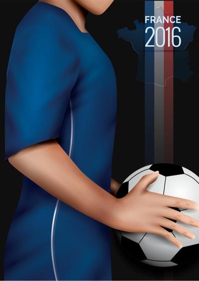 EURO 2016 vector art  poster