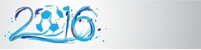 EURO 2016 vector art banner