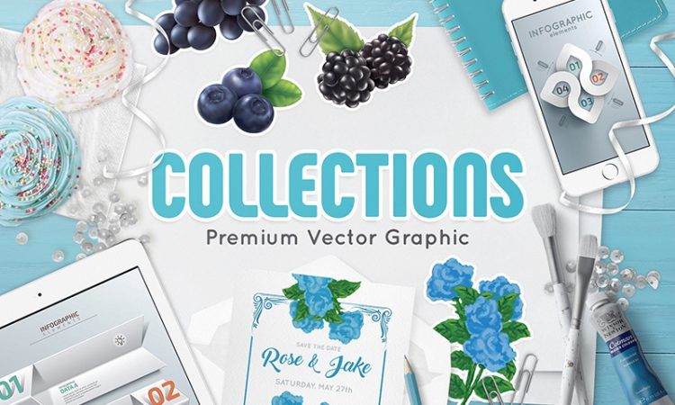 01-cover-collections-premium-vector-graphic